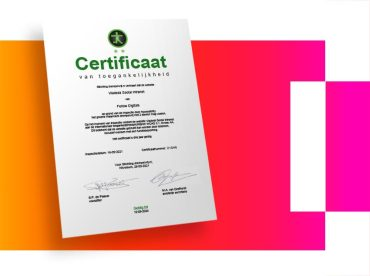 Fellow Digitals Accessibility certificate
